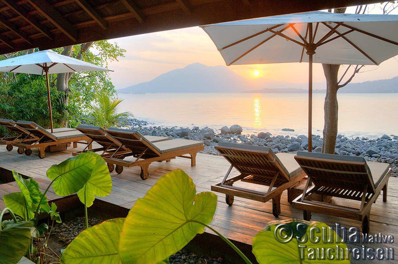 alami alor dive resort auf alor island indonesien scuba native tauchreisen. Black Bedroom Furniture Sets. Home Design Ideas