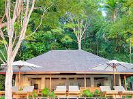 Das Haupthaus mit Sonnendeck