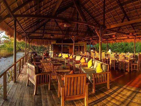 Alor Divers Resort – der Restaurantbereich