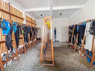 Tauchbasis des Maluku Dive Resort & Spa