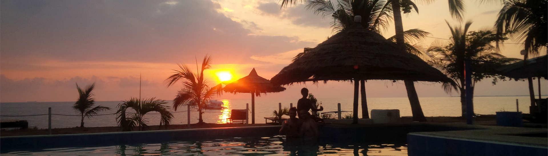 Sonnenuntergang auf Mindoro