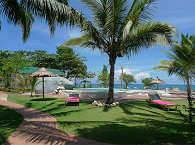 Mittelpunkt des Resorts mit dem großen Süßwasserpool