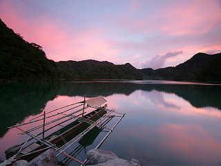 Sonnenuntergang auf Negros
