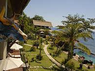 Gartenanlage – Tauch Terminal Tulamben, Bali