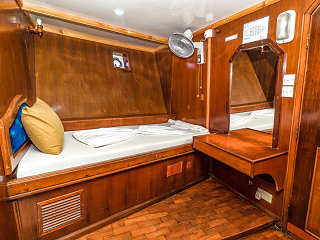 Standard Kabine auf der Blue Shark One – Safariboot Malediven
