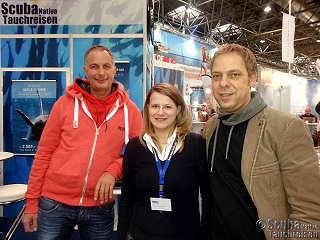 Boot 2014 – Jochen (Selayar Dive Resort), Angelika und Tom