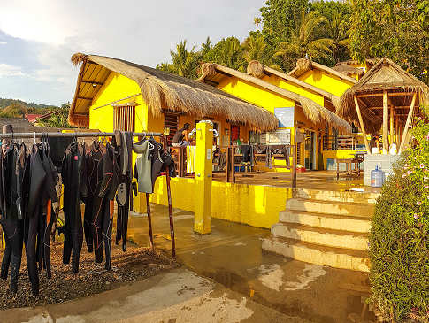Dive Center im Buceo Anilao Resort