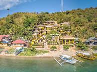 Buceo Anilao Beach & Dive Resort – Malerische Hanglage
