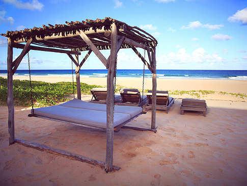 Entspannen mit Blick aufs Meer – Blu@Tofo, Mosambik