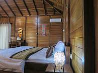 Doppel-Bungalow im Sali Bay Resort auf den Nord-Molukken
