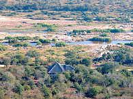 Lodge aus der Vogelperspektive – Marloth Park, Südafrika