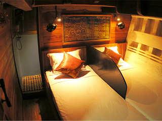 Doppelkabine für zwei Einzelgäste