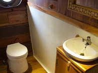Badezimmer auf der Calico Jack