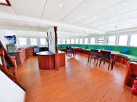 Salon der Carpe Diem – Safariboot Malediven