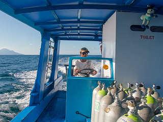 Auf Tour mit den Celebes Divers Manado