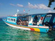 "Das große ""Perahu"" der Celebes Divers"