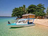 Tauchboot vor Siladen – Bunaken Nationalpark Indonesien