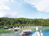 Coralia und das Papua Explorers Resort