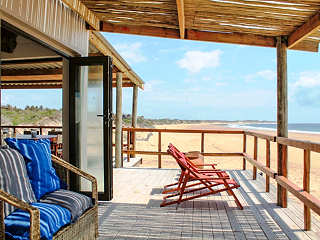 Corasiida Guest House – Blick in die Tofo Bay