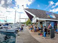 Fluid Tahiti Dive Center im Hafen Taina in Punaauia