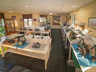Kameraraum im Dive Center