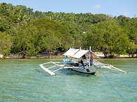 Tauchboot des 3 P Resort / Ducks Divers