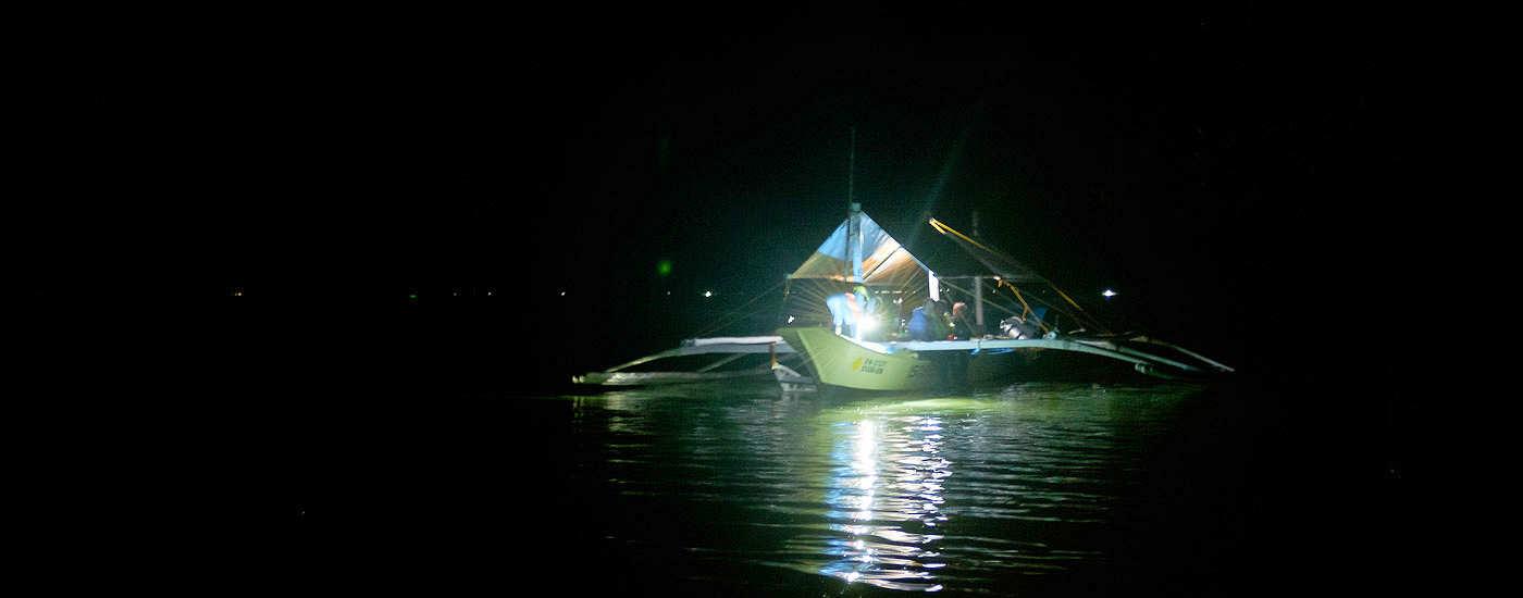 Nachttauchgang mit den Ducks Divers
