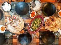 Safariboot Duyung Baru, Indonesien – Dinner/Abendessen