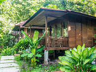 Bungalow im Froggies Divers Resort Bunaken, Nord Sulawesi