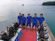 Tauchen vor Bali