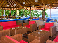 Lounge Area im Sali Bay Resort – Halmahera