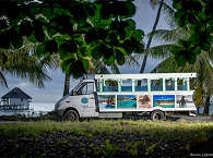 Minibus für Ausflüge und den Transfer zur Tauchbasis