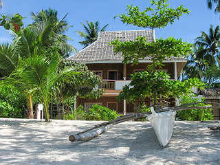 Sandstrand auf Malapascua – Hippocampus Beach Resort, Philippinen