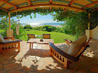 Terrasse im Casa Rex – Vilanculos, Mosambik
