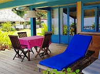 Veranda der Strand-Suite #3