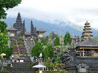 Muttertempel Besakih auf Bali, Indonesien