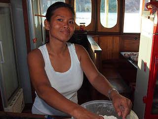 Die beste Köchin der Welt auf der Duyung Baru – Tauchreisen nach Indonesien