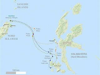 Tauchsafaris Halmahera - Molukken    © OpenStreetMap Contributers