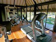 Fitnessraum im Kia Ora Resort & Spa