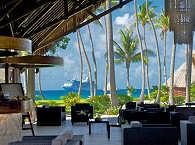 Restaurant und Bar im Kia Ora Resort & Spa