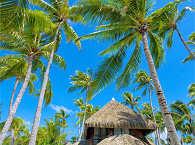 Beach Duplex Bungalow im Kia Ora Resort & Spa Rangiroa
