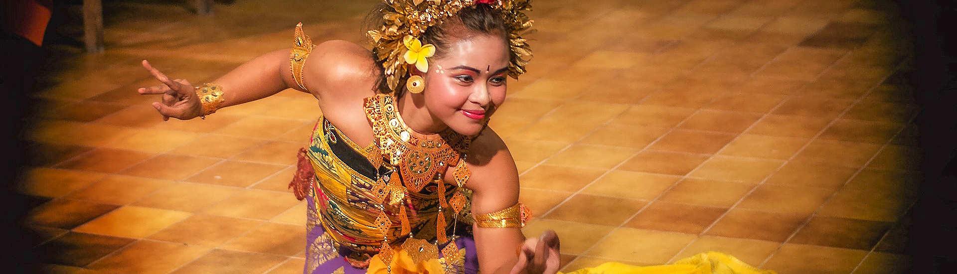 Balinesischer Tanz – Bali, Indonesien