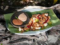 Asiatische und internationale Küche