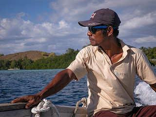 Tauchen in den Molukken