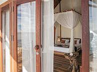 Blick in die offenen Wohn- und Schlafbereiche