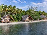 Beach-Villas des Kusu Island Tauchresorts