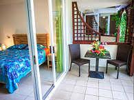 Doppelzimmer mit eigener Terrasse