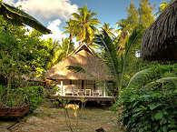 Gartenanlage im Relais de Joséphine – Polynesien
