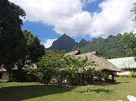 Strand-Resort auf Moorea, Französisch Polynesien