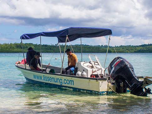 Tauchboot – Lissenung Island